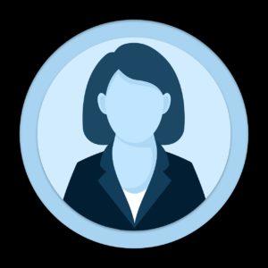 icon, user, female
